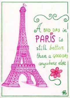 Illustrated postcards. Paris #1.