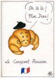 Illustrated postcards. Paris #2.